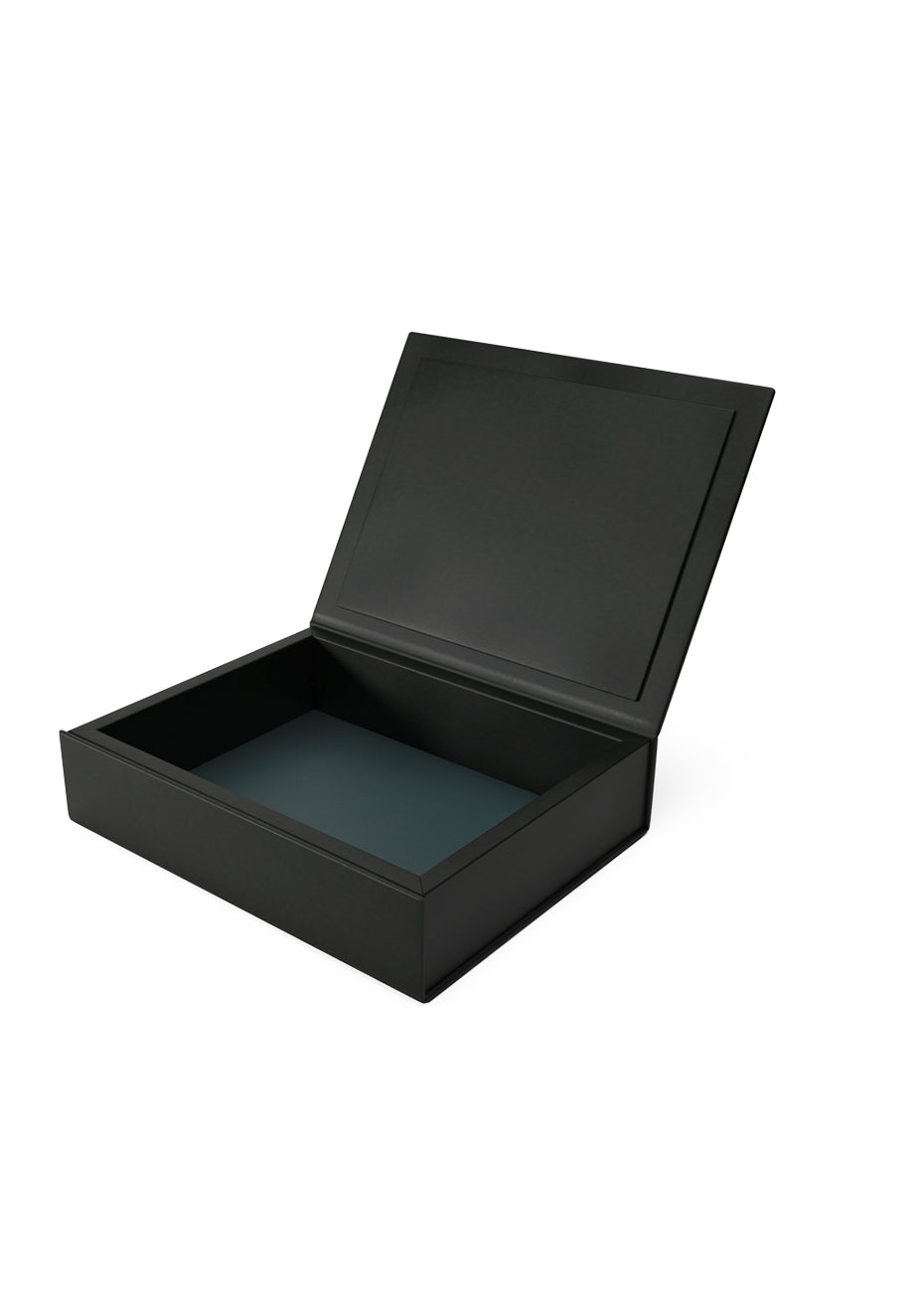 The Bookbox: Black Leather Box Medium