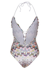 Missoni Mare Ruffle Swimsuit shop online at lot29.dk