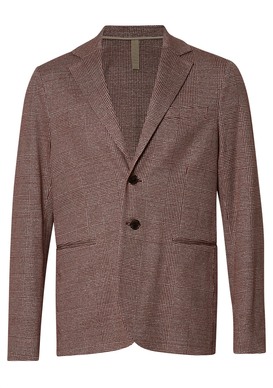 Brick Double Prince Of Wales Blazer