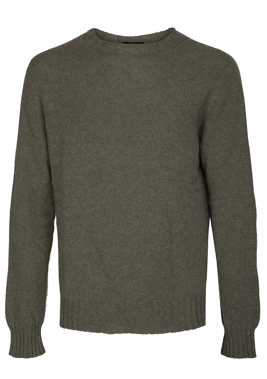 Moss Cashmere Sweater