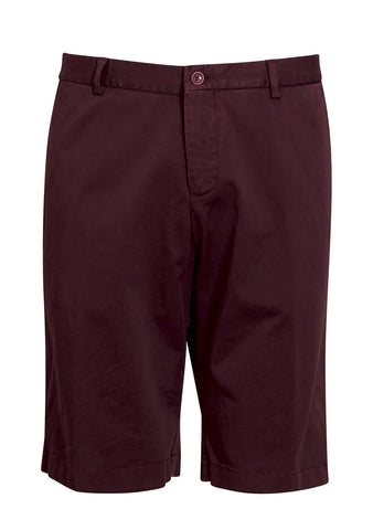Etro Men Burgundy Chino Shorts