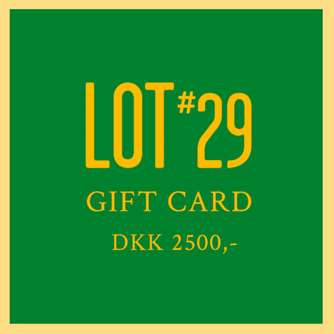 GIFT CARD 2500