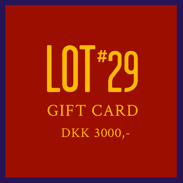 GIFT CARD 3000