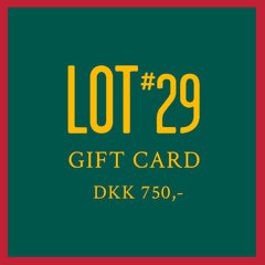 GIFT CARD 750