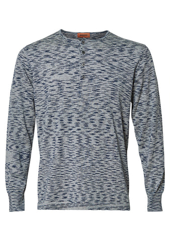 Missoni Men Blue Henley shop online at lot29.dk