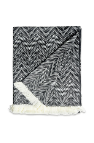 Missoni Home Black Timmy Throw