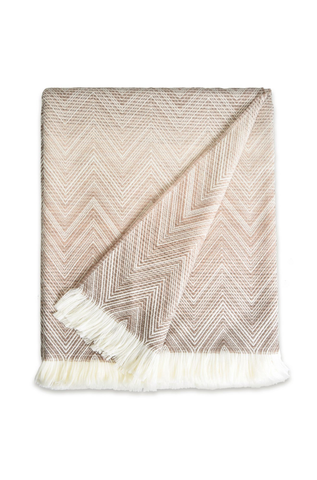 Missoni Home Beige Timmy Throw