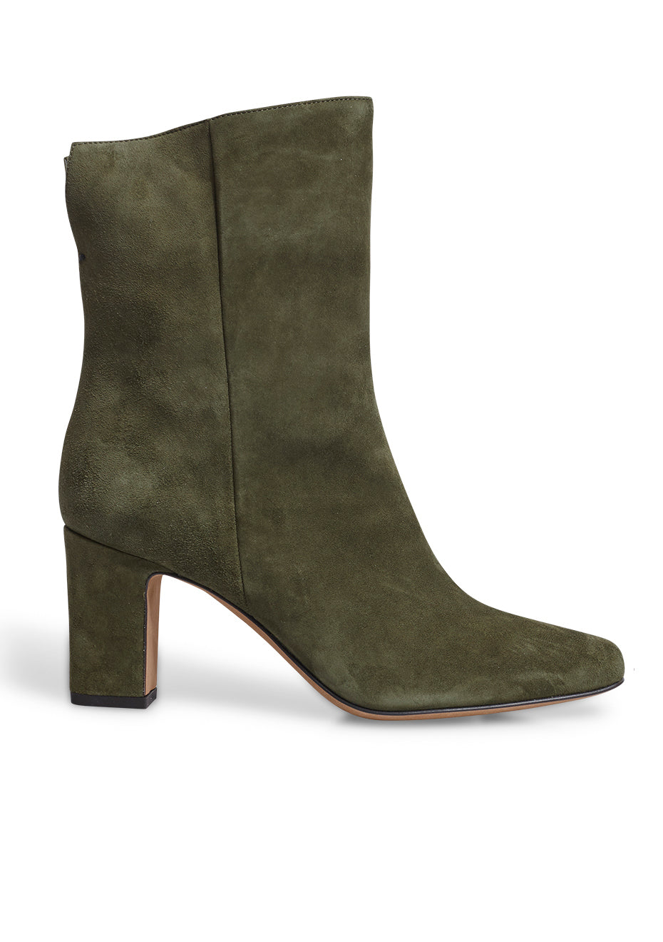 Lela Olive Suede Boots