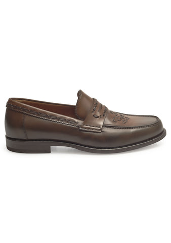 Etro Men Brown Moccasin
