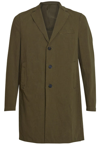 Washed Cotton Coat