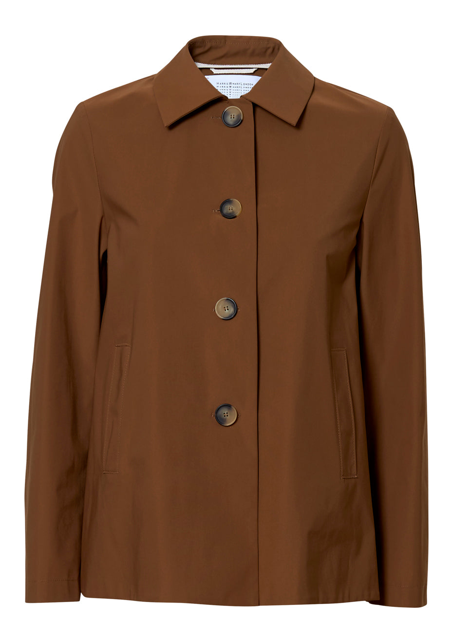Loden Short Tobacco Technical Jacket