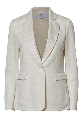 Off White Linen Blazer