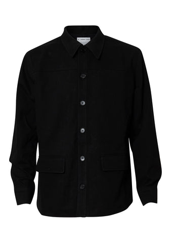 Chan Black Overshirt