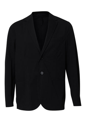 Coolmax Black Seersucker Blazer