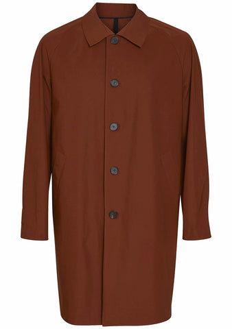 Harris Wharf London Copper Technical Overcoat