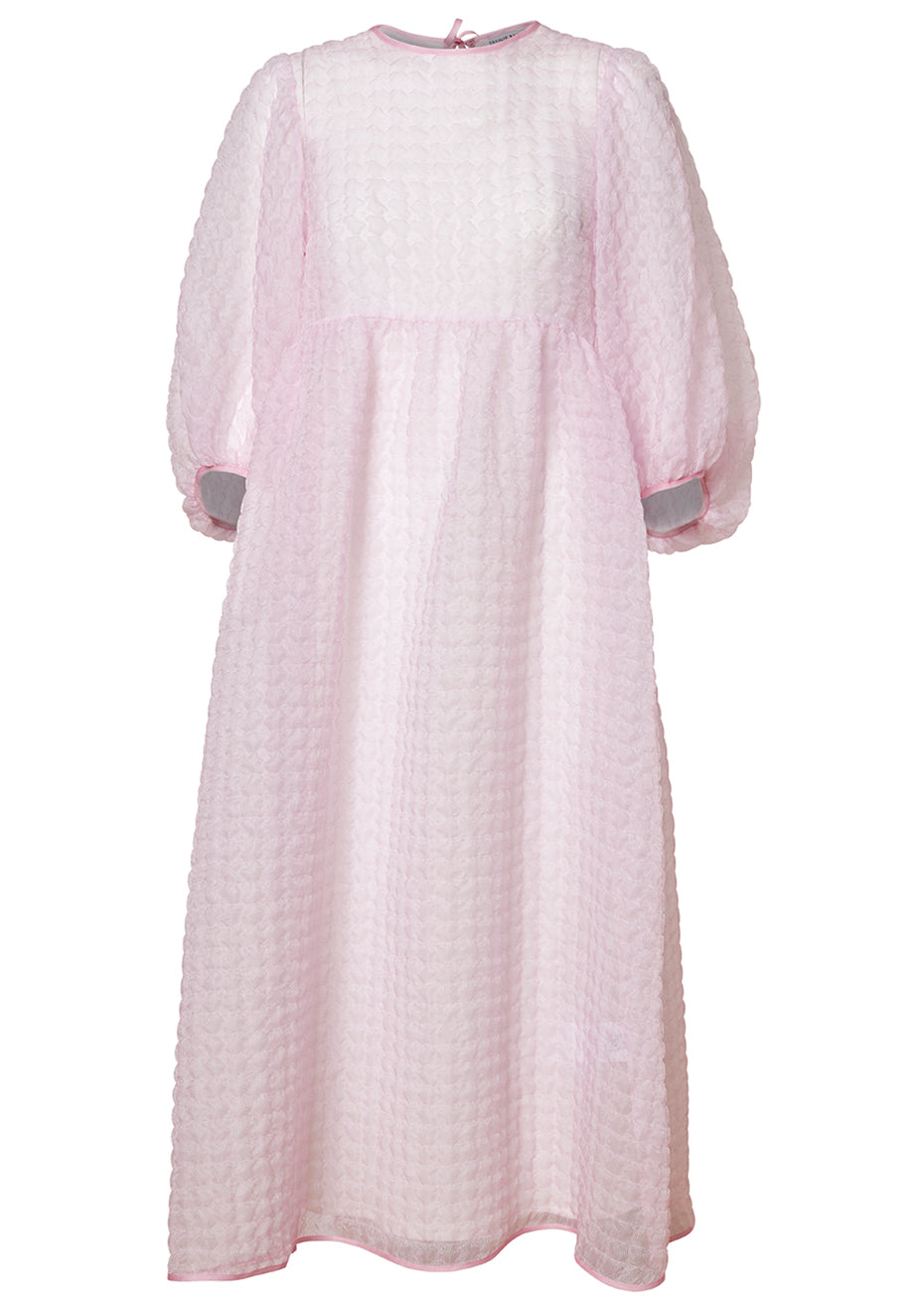 Karmen Pink Gauze Dress