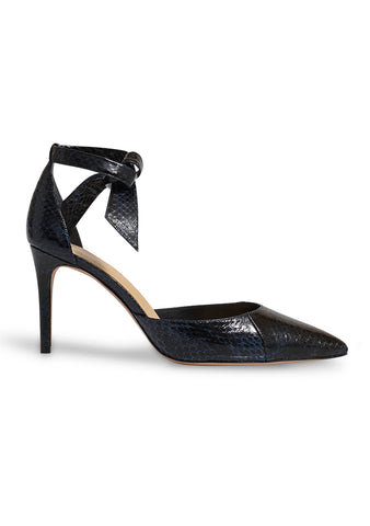 Alexandre Birman Snakeskin New Clarita Pumps