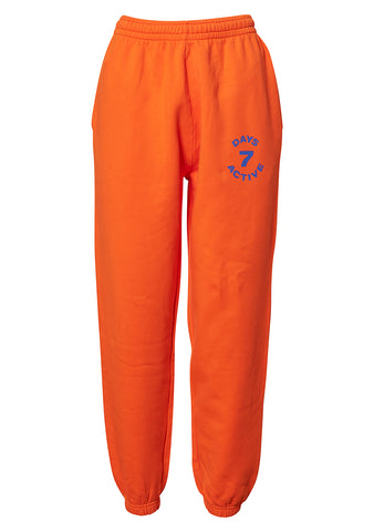 7 DAYS Orange Monday Pants