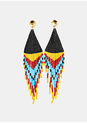 MAREgold Yellow Sinaloa Dangling Earring shop online at lot29.dk