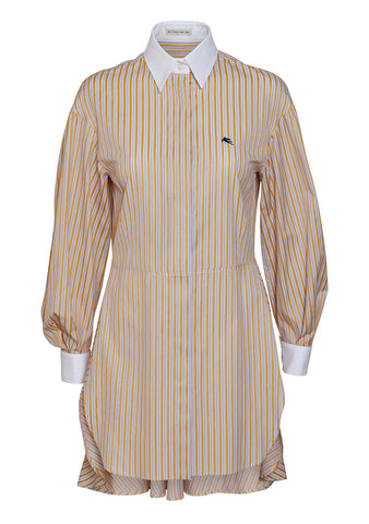 Etro Striped Shirt Dress