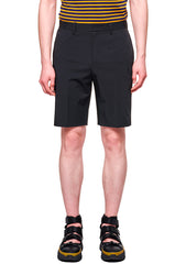 Wooyoungmi Black Tailored Shorts shop at lot29.dk