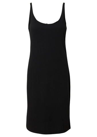 Raquel Allegra Black Jersey Layering Tank Dress shop online at lot29.dk