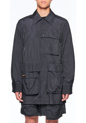 Wooyoungmi Black Nylon Jacket shop at lot29.dk