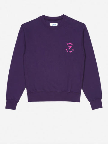Grape Purple Monday Crew Neck