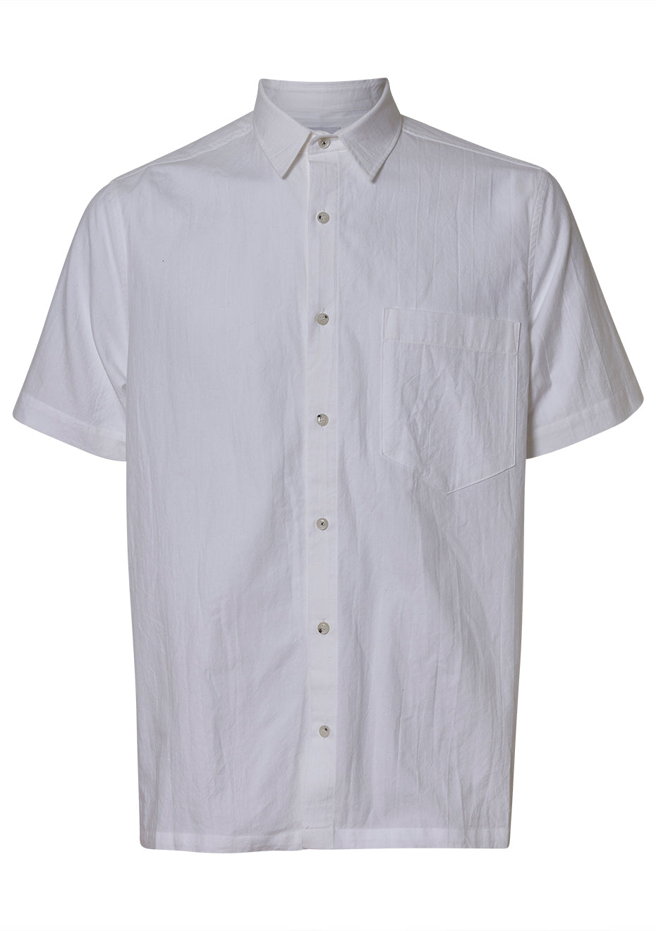 Adam White Shirt