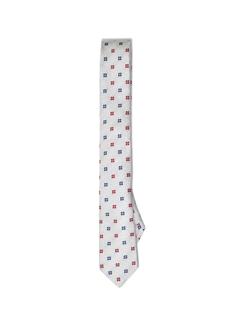 Etro White Flower Tie shop online at lot29.dk
