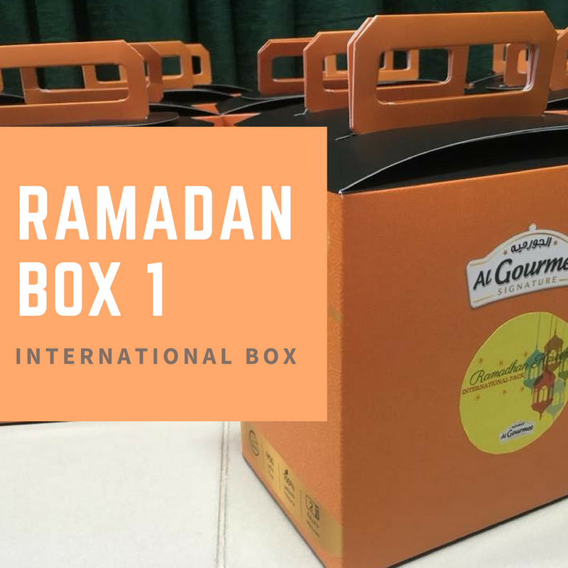 Ramadan Box - INTERNATIONAL MENU