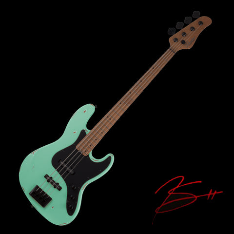 "July 18, 2021 - Boston, MA - SECOND NIGHT - Schecter ""J4 Sixx"" Feelgood Bass (Numbered Limited Edition)"
