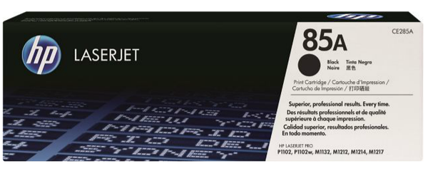 HP 85A Black Toner Cartridge, compatible