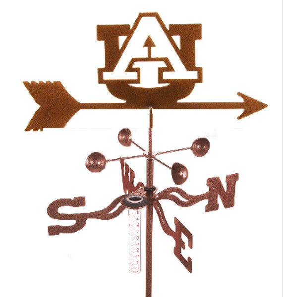Show your team support with our Auburn University Tigers Collegiate Rain Gauge Garden Stake Weathervane