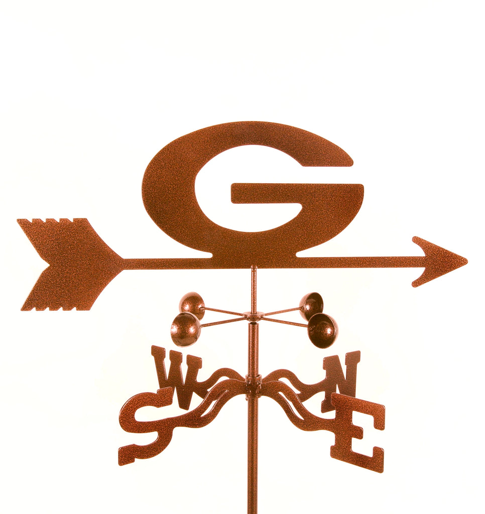 University of Georgia Bulldogs Collegiate Rain Gauge Garden Stake Weathervane