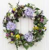 Welcome guests into your home with our Lavender Blooms Elegant Front Door Wreath-23 inch