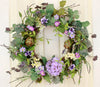 Welcome guests into your home with our Loretta's Lavender Elegant Front Door Wreath - 23 inch