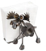 Moose Recycled Scrap Metal Napkin Holder - Made in the USA
