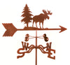 Combine function and yard art with our Moose Rain Gauge Garden Stake Weathervane