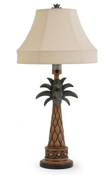 Our unique Palm Tree Fronds Indoor Outdoor Table Lamp will add style and function to your home or outdoor living.