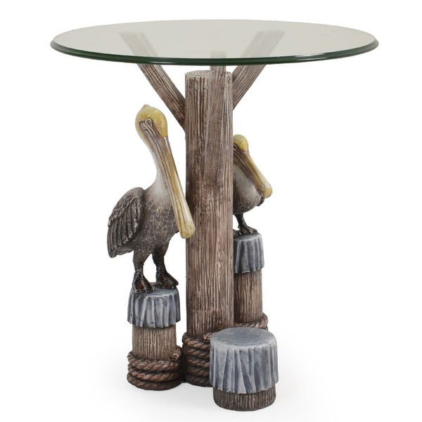 Entertain with our Pelican Indoor Outdoor Accent Side Table