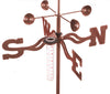 Palmetto (South Carolina) Rain Gauge Garden Stake Weathervane