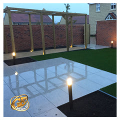 Garden Lighting Recessed Seating Lights