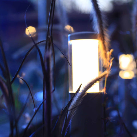 12v Garden Lights - Post Light In Border