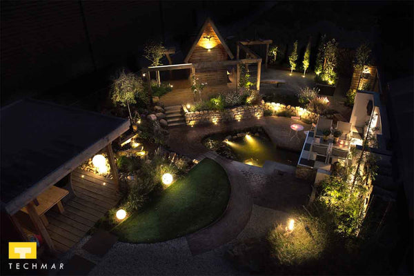 Low Voltage Garden Lighting - Ambient Garden Picture