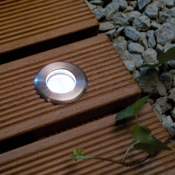 Low Voltage Garden Lights,  Techmar ASTRUM 12v LED Low Voltage Outdoor Decking Lights (IP68) - Decking Lights - TECHMAR original product - 3