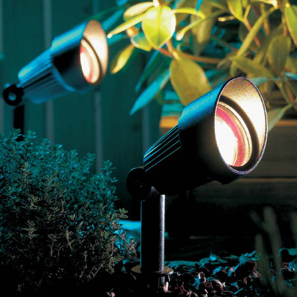 Low Voltage Garden Lights,  Techmar FOCUS 12v LED Low Voltage Garden Spotlight - 'All Inclusive Starter Set' - 4 spotlights (optional remote) - Starter Sets - TECHMAR original product - 2