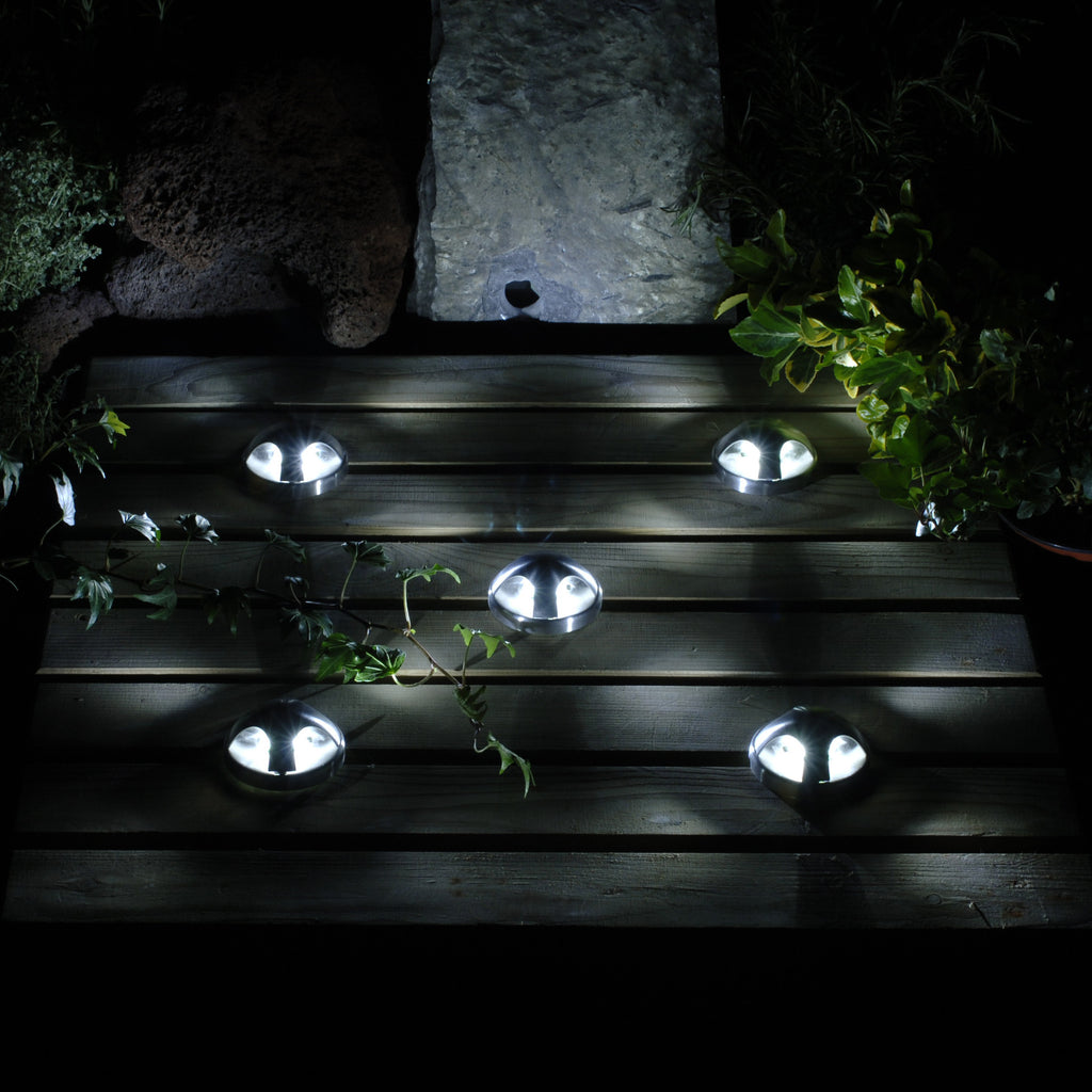 Lotus low voltage garden lights wall light 4013601 for Garden lights