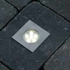 Low Voltage Garden Lights,  Techmar BREVA 12v LED Low Voltage Outdoor Decking Lights (IP68)