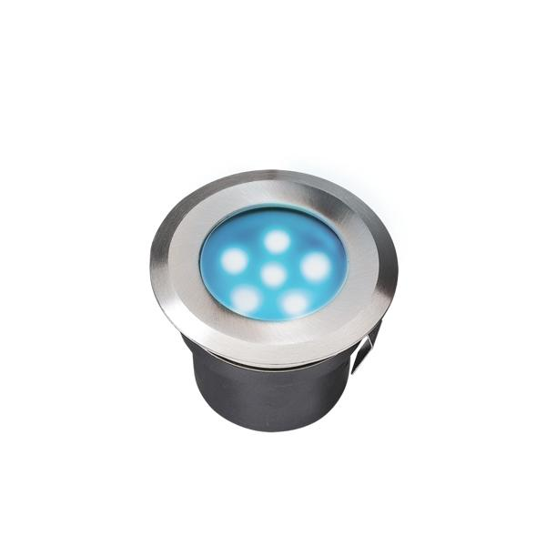 Low Voltage Garden Lights,  Techmar SIRIUS BLUE 12v LED Low Voltage Outdoor Decking Lights (IP68)